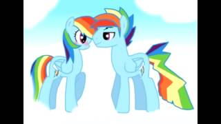 getlinkyoutube.com-Rainbow dash x rainbow blitz -trouble maker