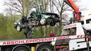 Schwerer Verkehrsunfall Rohr im Kremstal