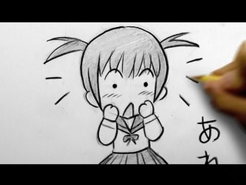 How to Draw a Chibi: Surprised