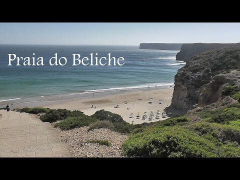 ALGARVE: Praia do Beliche (beach), Sagres (Portugal) HD