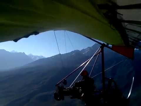 homemade trike fly at 14500ft asl Shundur Pakistan