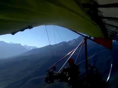 homemade trike fly at 14500ft asl Shundur Pakistan