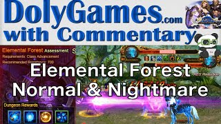 getlinkyoutube.com-➜ Wartune Gameplay - Elemental Forest (Normal and Nightmare)