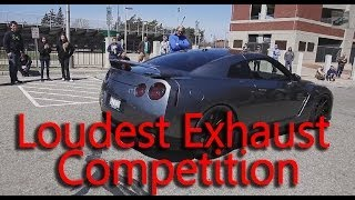 getlinkyoutube.com-Loudest Exhaust Competition - Who Has The Loudest Exhaust?