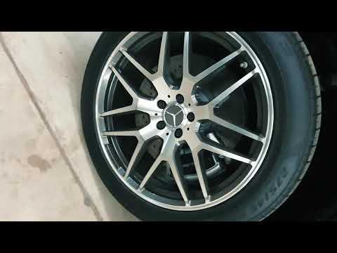 Где находится номер двигателя у Mercedes ГЛЕ