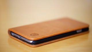 getlinkyoutube.com-Shieldon Natural Leather Wallet Case (iPhone 6/6s Plus)