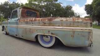 getlinkyoutube.com-Patina 65 Chevy C10 Rat Rod Surfer Truck