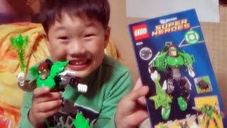 getlinkyoutube.com-레고 그린랜턴 히어로팩토리 방식 슈퍼히어로 4528 정품을 조립하는 아이