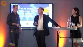 Varumärkesseminarium Västerbotten i Almedalen 2015 - Magnus Gink och Robert Winroth