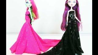 getlinkyoutube.com-How to Make a Doll Dress with a Train Tutorial