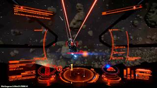 getlinkyoutube.com-Elite - Dangerous Beta 1.4 - Federal Assault Ship vs Anaconda