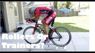 getlinkyoutube.com-Winter/Cycling Indoors: Trainer or Rollers?