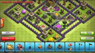 getlinkyoutube.com-Clash of clans:Nice town hall lv 8 #2 farming base!!