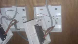 getlinkyoutube.com-How to Wire A 2 Way Light Switch - Part 1