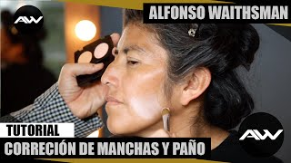 getlinkyoutube.com-Tutorial maquillaje para quitar el paño por Alfonso Waithsman