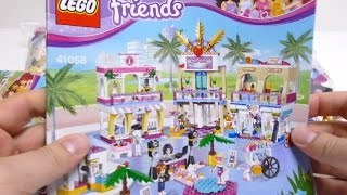 getlinkyoutube.com-LEGO Friends 41058 - Heartlake Shopping Mall 2015 Set