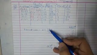 Chapter 14 Exercise 14.1 (Q5) STATISTICS of Maths class 10