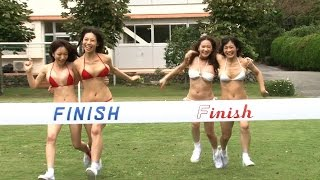 getlinkyoutube.com-ハプニング続発! Hカップなおっぱい運動会