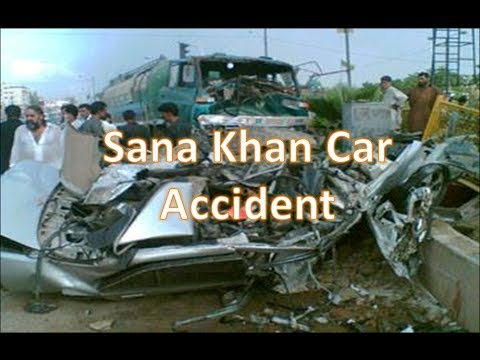 Sana Khan Road Car Accident Video Kuch Kuch Hota Hain child actress