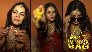 Jigyasa Singh aka Thapki's Handbag SECRET REVEALED | What's In Your Bag