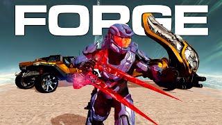 getlinkyoutube.com-Halo 2 Anniversary Forge - Golden Warthog, Red Energy Sword, Heretic Banshee, Gungoose & More!