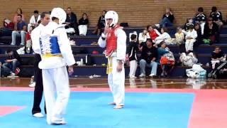 funny taekwondo fight