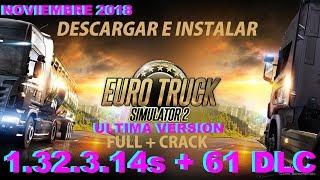 getlinkyoutube.com-Descargar e instalar euro truck simulator 2 full español ultima versión 1.25.1.0s + 42 DLC x32 y x64