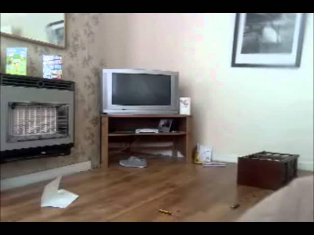 Real Demon Ghost Caught On Tape Poltergeist Activity 2011
