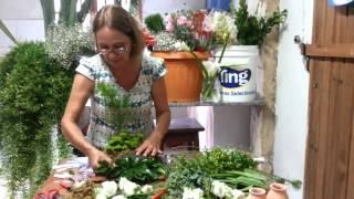 getlinkyoutube.com-Passo a Passo - Arranjo Festa Floral