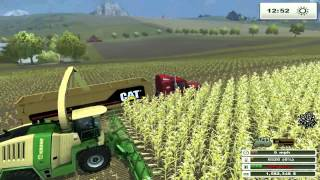 getlinkyoutube.com-Farming sim Saturday SWEET NEW MODDED TRACTORS