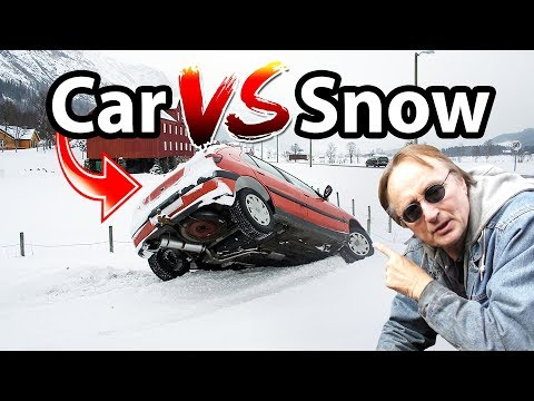 How to Prepare Car for Winter Weather (Car vs Snow)