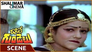 getlinkyoutube.com-Ragile Gundelu Movie || Jayamalini Love Scene || Mohan Babu, Radhika
