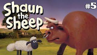getlinkyoutube.com-Shaun the Sheep - Awas Banteng Galak! [The Bull]