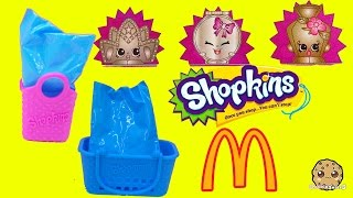 Ultra Rare Mcdonalds Fast Food Happy Meals Exclusive Shopkins Seasons 1, 2, 3, 4 ? Blind Bags Video