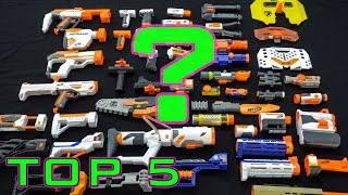 TOP 5 BEST NERF ATTACHMENTS!