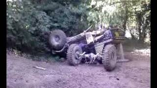 Suzuki  SJ crash Funny samurai jeep