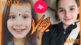 getlinkyoutube.com-Annie VS Hayley Musical.ly
