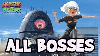 getlinkyoutube.com-Monsters VS Aliens All Bosses | Boss Battles (PS3, X360, Wii, PS2)