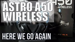 getlinkyoutube.com-New Gen 3 Astro A50 Headset 2016 Unboxing & First Impressions| PS4 & PC
