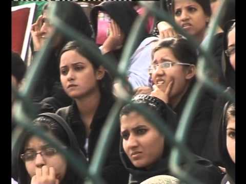 Pakistan vs India women's wrestling match at Youth Festival 2014