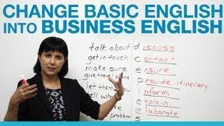 getlinkyoutube.com-How to change Basic English into Business English