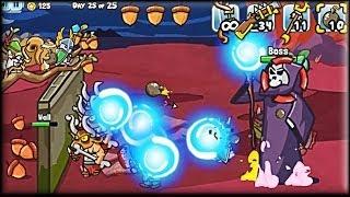 getlinkyoutube.com-Defend Your Nuts 2 - Game Walkthrough (all 1-25 lvl & Boss fight)