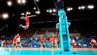 TOP 10 Monsters of the Vertical Jump   Volleyball (HD)