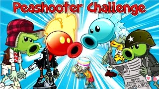 getlinkyoutube.com-Plants Vs. Zombies 2 Gameplay Peashooter Challenges