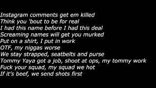 getlinkyoutube.com-Lil Durk - Shots Fired (Official Screen Lyrics)