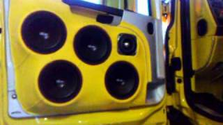 getlinkyoutube.com-Scania yellow demon ricky new audio 2