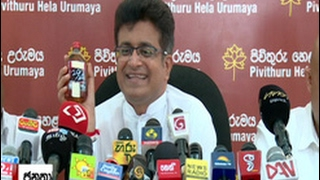 Gammanpila clarifies why tax on hard liquor reduced