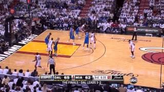 getlinkyoutube.com-2011 NBA Finals - Dallas vs Miami - Game 6 Best Plays