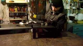 getlinkyoutube.com-Саморобний станок для холодної ковки, дуги, круги, гнуття.