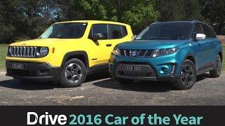 Suzuki Vitara v Jeep Renegade | 2016 Best City SUV